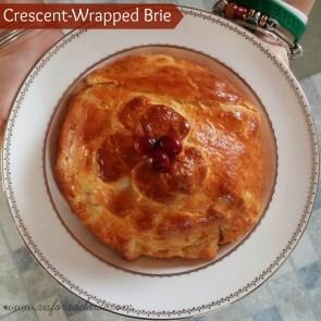 Crescent Wrapped Brie #holiday #holidayadvantedge #collectivebias #aisforadelaide #cbias #ad