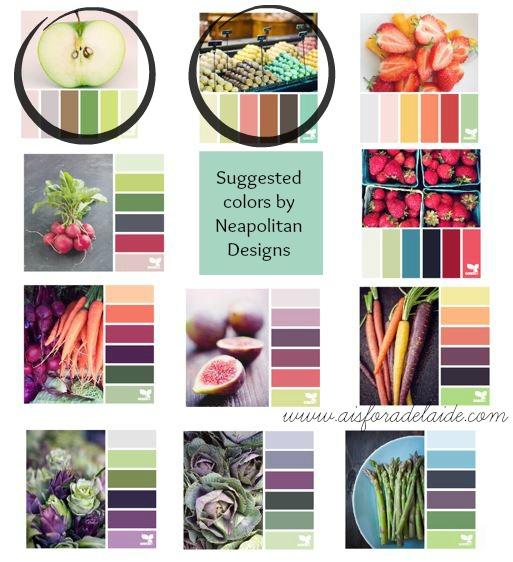 colorpalettes Neapolitan Designs #webdesign #graphicdesign #blog #blogdesign #aisforadelaide