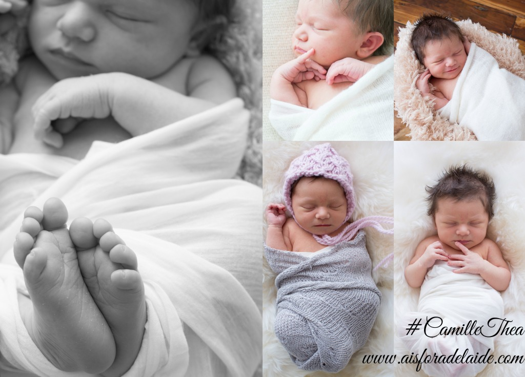 #CamilleThea #Aisforadelaide #newbornphotography #agroterraphotography the first days