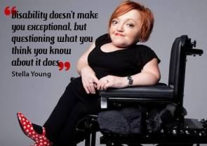 stella young inspiration porn aisforadelaide OI dwarfism