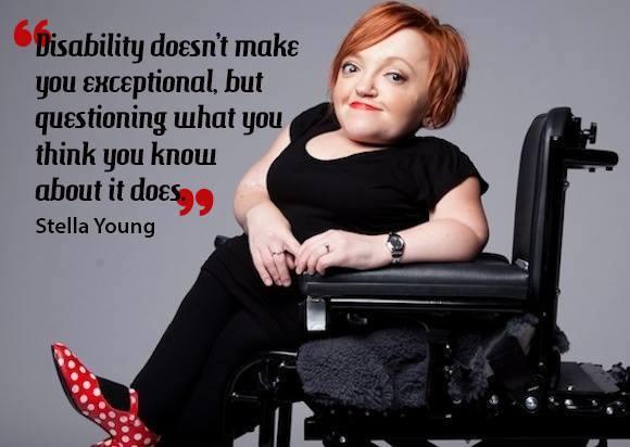 stella young inspiration porn aisforadelaide OI dwarfism