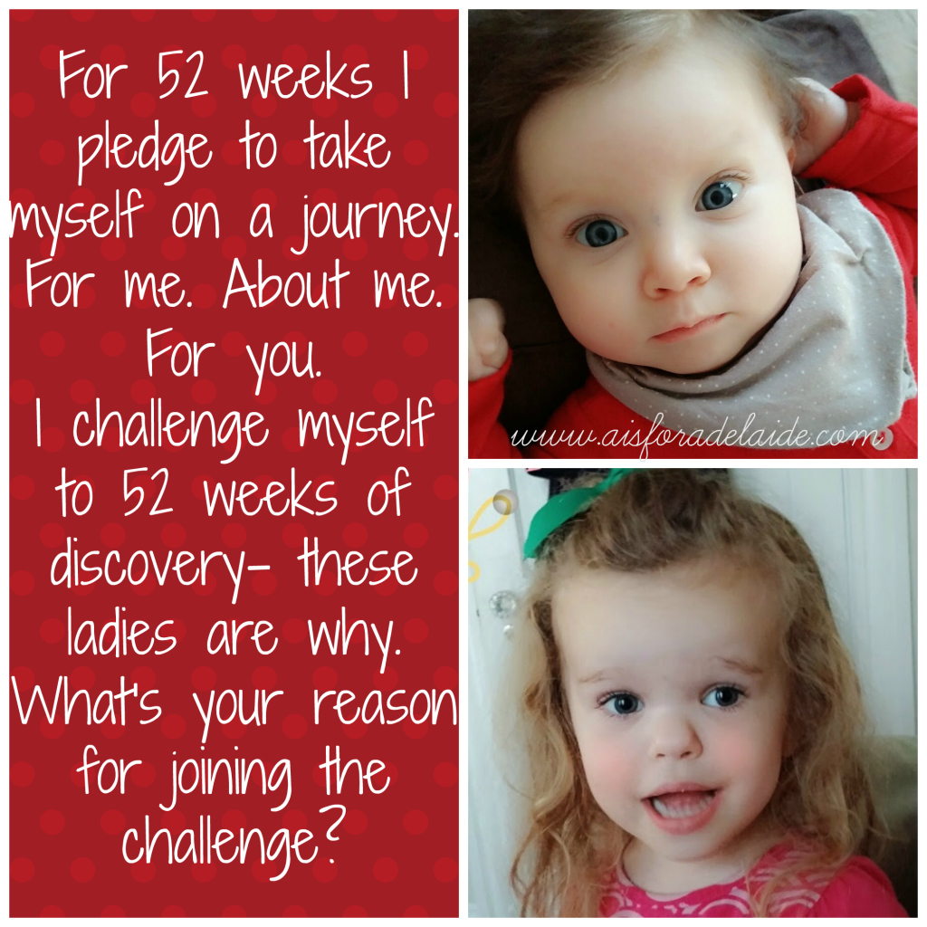 #52weeksA4A aisforadelaide 52 week challenge camillethea
