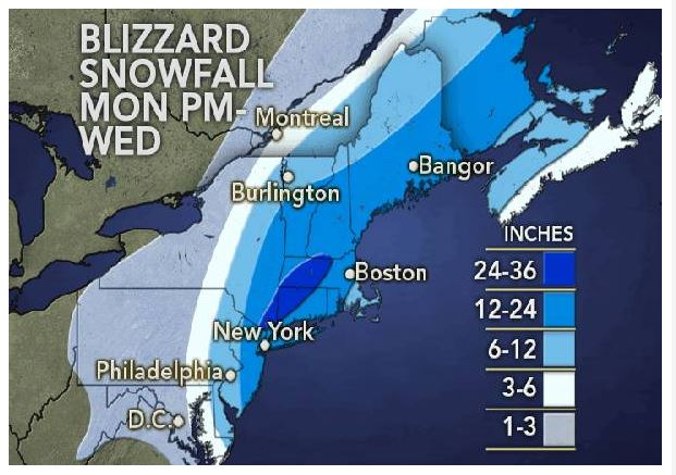 marvelous monday blizzard from accuweather