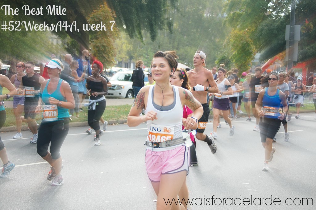 #52WeeksA4A  Blog Challenge from #aisforadelaide The Best Mile week 7