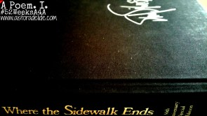 Where the Sidewalk Ends #52WeeksA4A