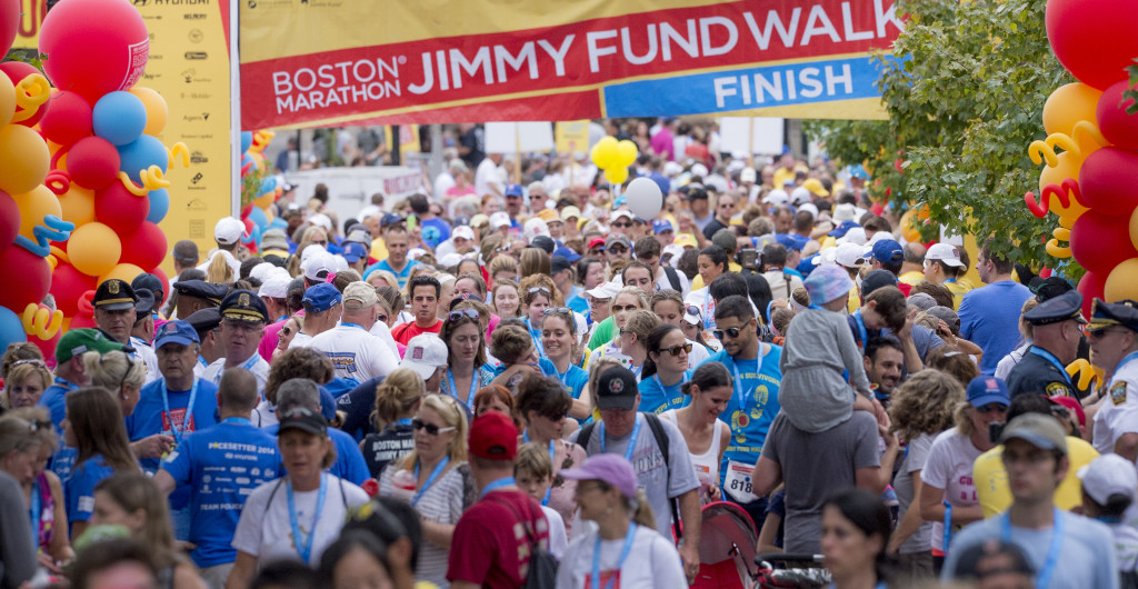 Join me on at the Boston Marathon #JimmyFundWalk in September (discount code!). #ad