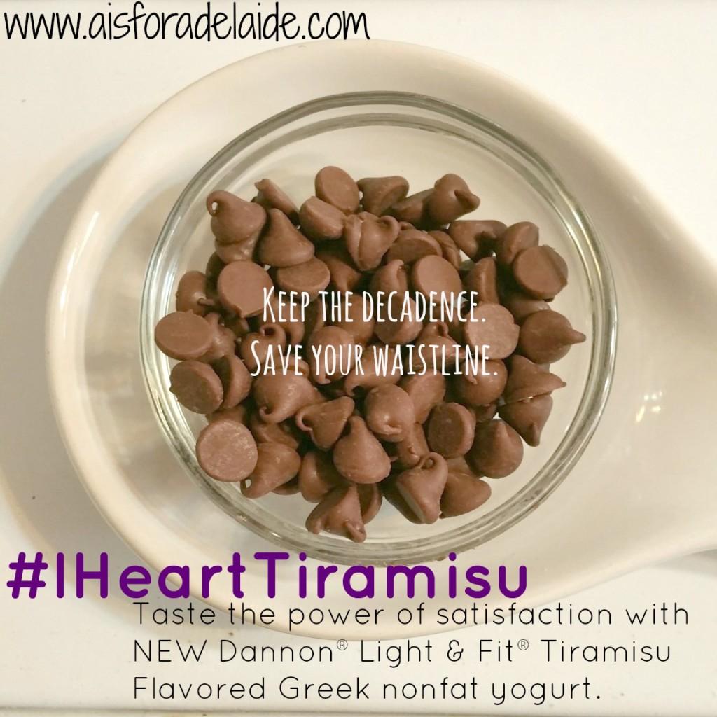 Taste the power of satisfaction with NEW Dannon® Light & Fit® Tiramisu Flavored Greek nonfat yogurt. #IHeartTiramisu #IC #ad