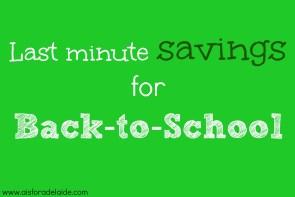 Last Minute #Deals for #Backtoschool #snacks