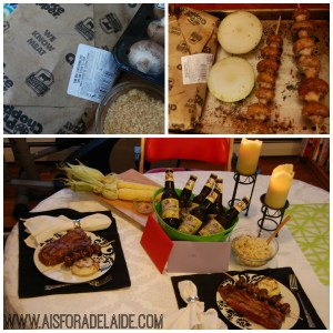 The perfect wedding anniversary dinner #HouseofBBQ #CollectiveBias #ad