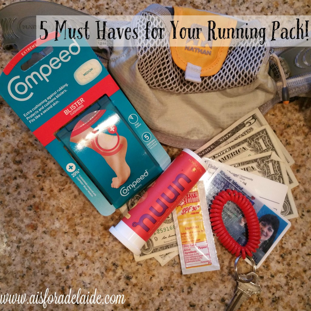 5 Must Haves for your Running Pack + #ByeByeBlisters! [ad]