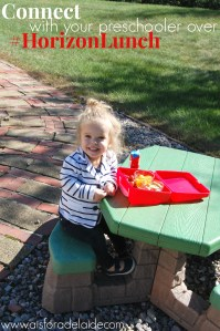 Reconnecting with your preschooler over a #HorizonLunch. #CollectiveBias #ad