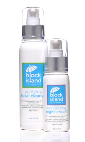 Block Island Organics new facial cleaner #review [sponsored]