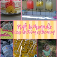 Pink Lemonade First Birthday Party!