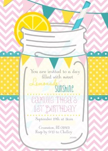 Pink Lemonade First Birthday Party