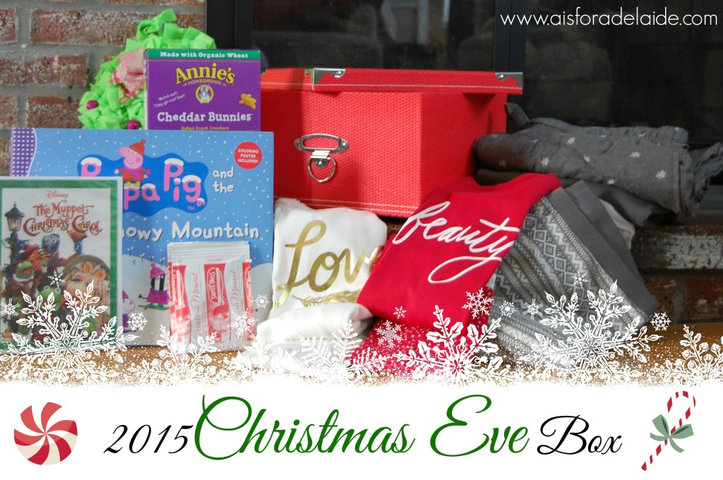 2015 Christmas Eve box #holiday #tradition #ChristmasEve