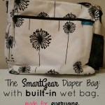 Baby K'Tan SmartGear Diaper Bag: a cloth diapering dream!