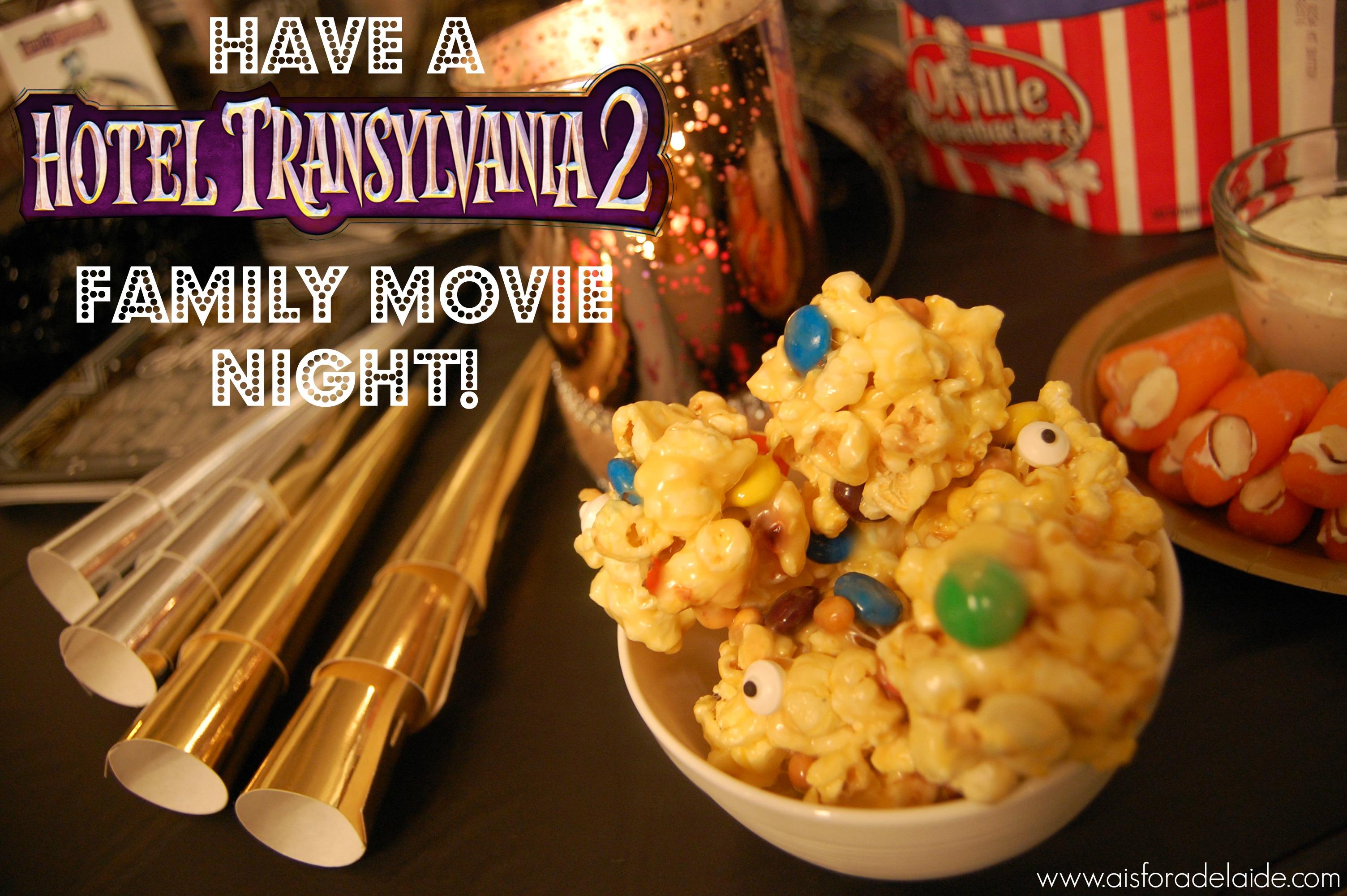 Popcorn (eye) Balls to #MakeItAMovieNight + Hotel Transylvania