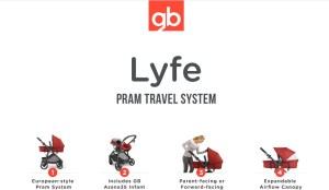 GB Lyfe Pram Travel System #GBThatsMe #IC [ad] #baby