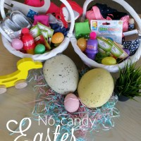 New Traditions and Non-Candy Easter Baskets