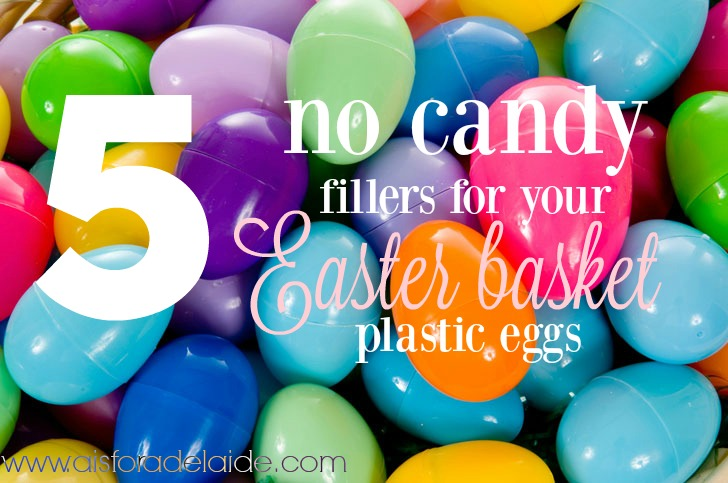 5 No-Candy Ideas to fill plastic Easter Eggs