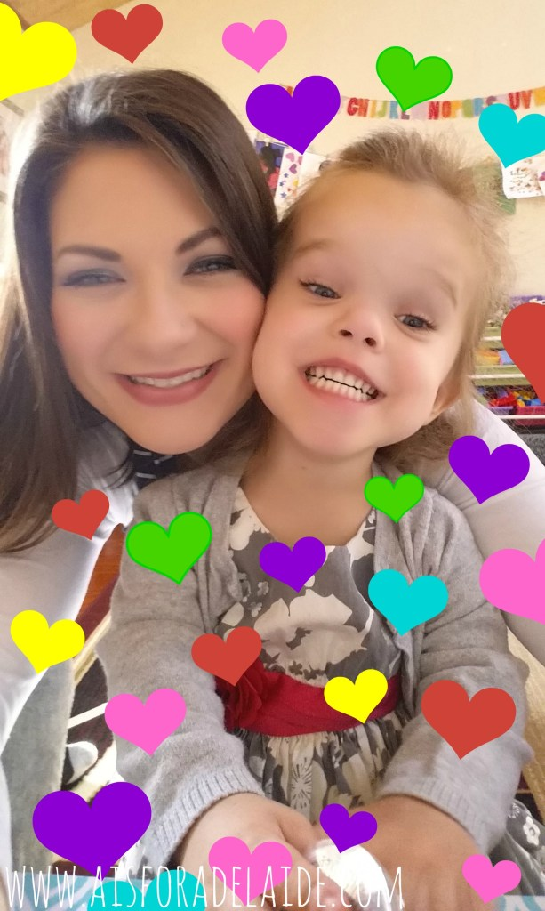 A letter to my daughter, on her fourth birthday...