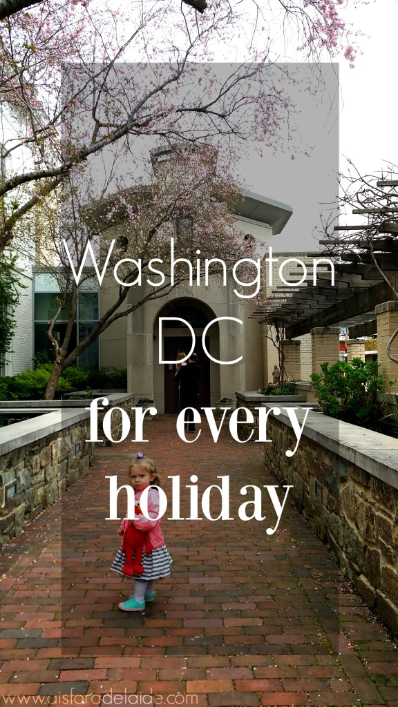 Traveling to Washington DC for all holidays! #travel