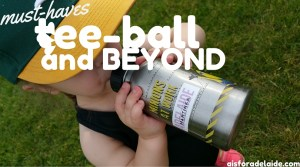 5 essentials for tee-ball season!
