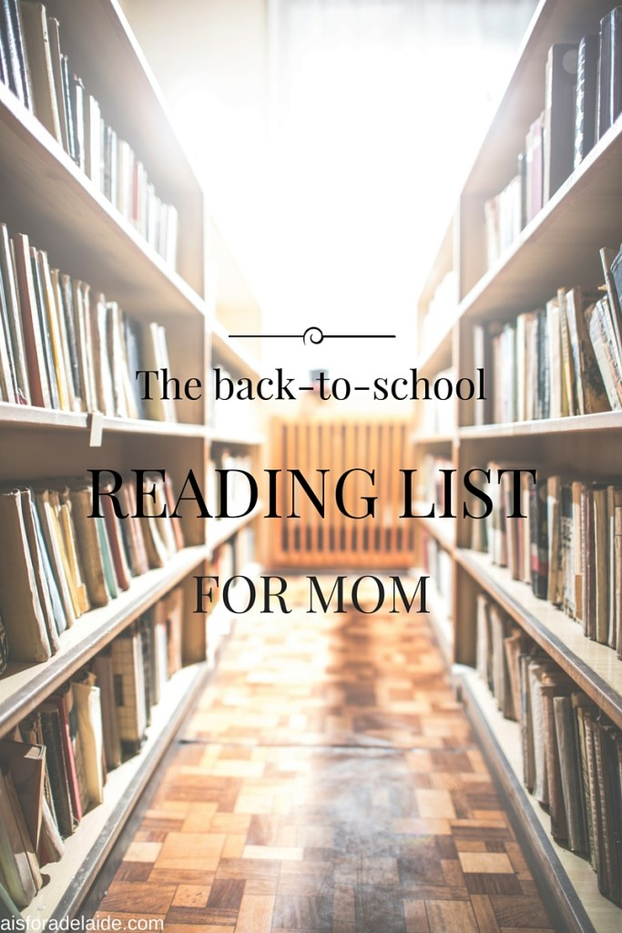 Back-to-School Reading List for Moms