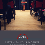 Listen to Your Mother, PVD 2016