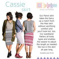 Lularoe Cassie skirt: Formal + Casual #styleguide
