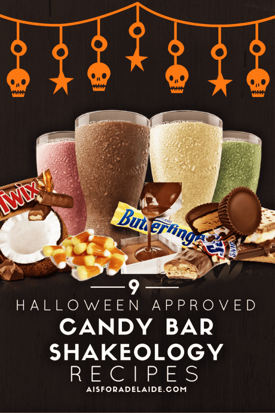 Halloween Shakeology Recipes: Candy Bar Health