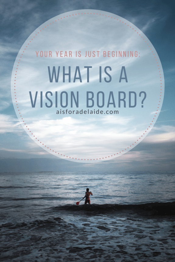 Creating a vision board to live your life to the fullest!