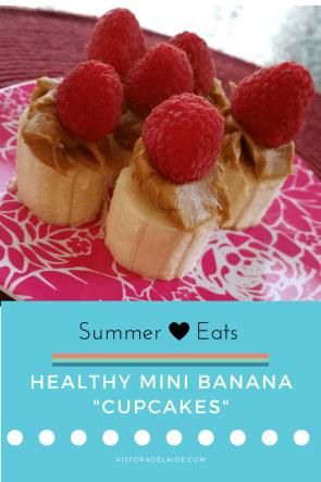 Healhty Mini Banana Cupcakes