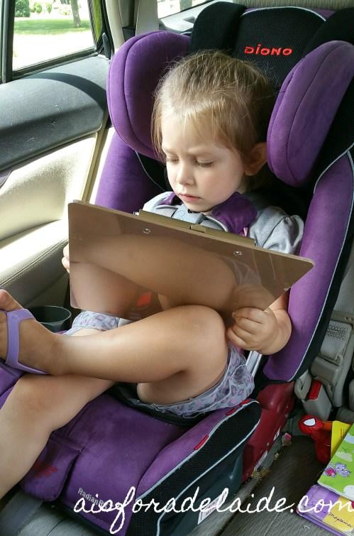 5 Tech-Free Car Games for your Preschooler #RoadTripTreats #ad