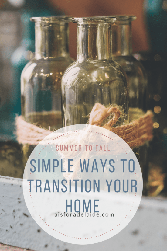 Simple Ways to Transition Your Home From Summer to Fall