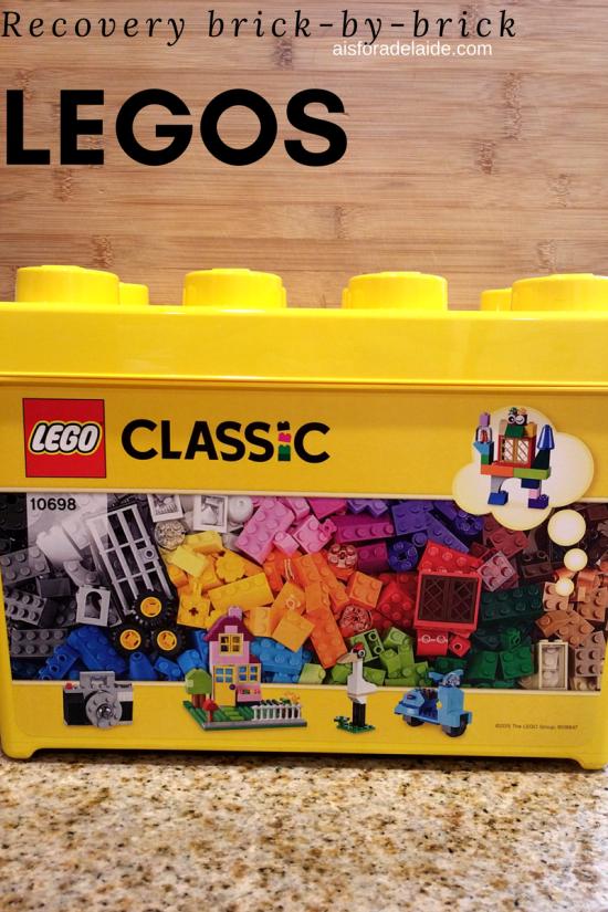 Legos: Recovery built brick-by-brick