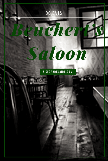 DC Eats: Beuchert's Saloon