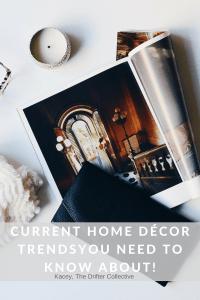 Current Home Décor Trends