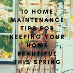 10 Home Maintenance Tips for Keeping Your Home Beautiful this Spring