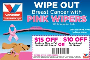 #ad #WipeOutBreastCancer with your car! #PinkMyRide