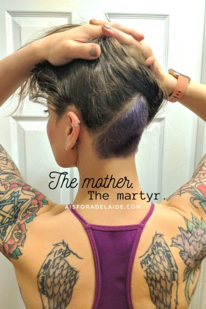 The mother. The martyr: Self-care
