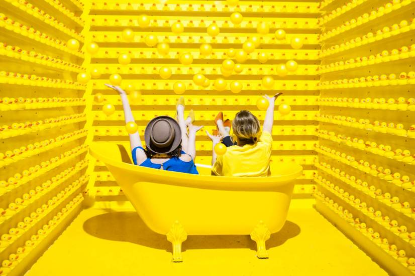 HAPPY PLACE: Rubber Ducky Cuby of Fun