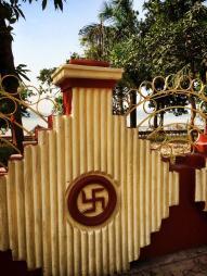 a sign of peace in hindu culture.