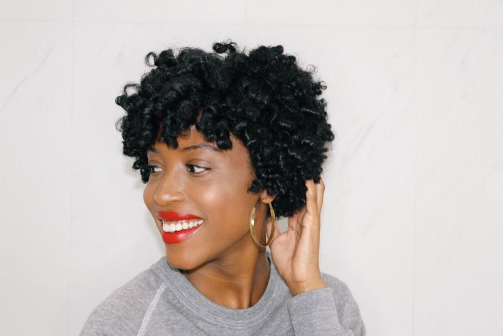How To Use Flexi Rods On Short Natural Hair Aishabeau