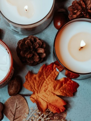 autumn-inspired candles, aisha beau