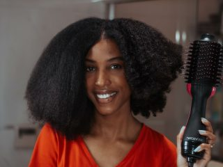revlon one-step hair dryer and volumizer, aisha beau