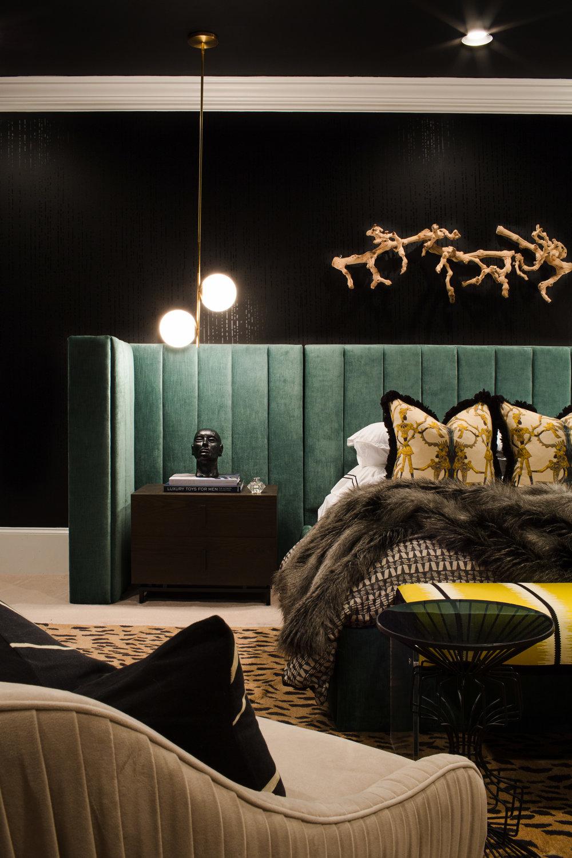 forbes + masters, black interior designers