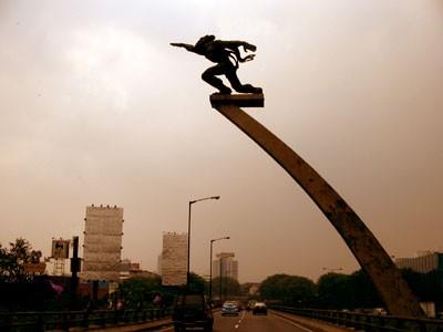 10 Gambar Tugu Pancoran Jakarta  Sejarah Misteri Jaman