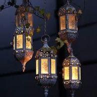 Altar Surround, 'oil' Lanterns
