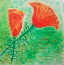 Quatre Fleurs: Poppies